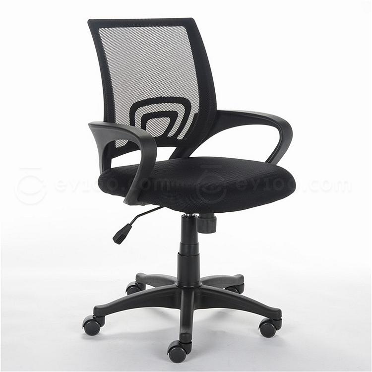 顺发 网布职员椅 (黑)  SH1561B