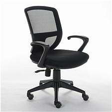 顺发 网布职员椅 (黑)  SH9039B