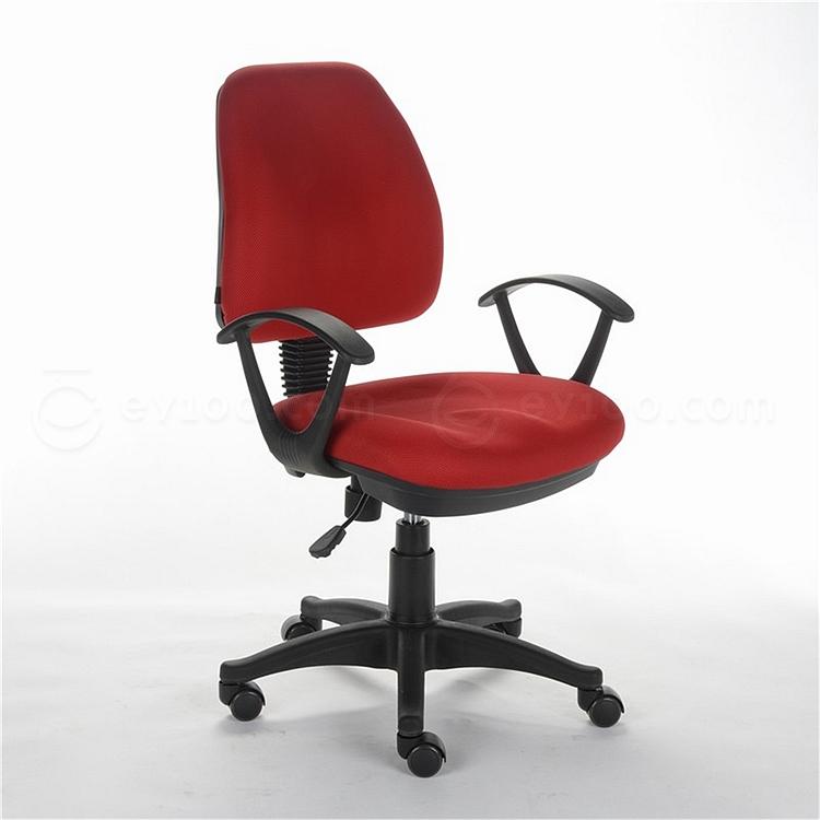 顺发 布艺职员椅 (红)  SH332