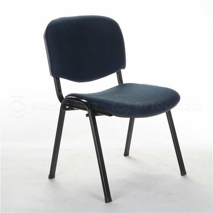 顺发 布艺会客椅 (灰蓝)  SH401