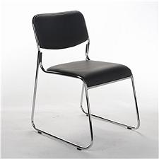 顺发 仿皮会客椅 (黑)  SH223A-1
