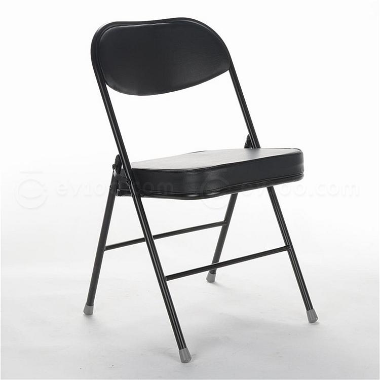 顺发 仿皮折叠椅 (黑)  SH256B
