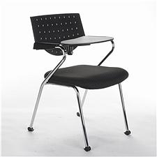 顺发 布艺培训椅 (黑)  SH236C