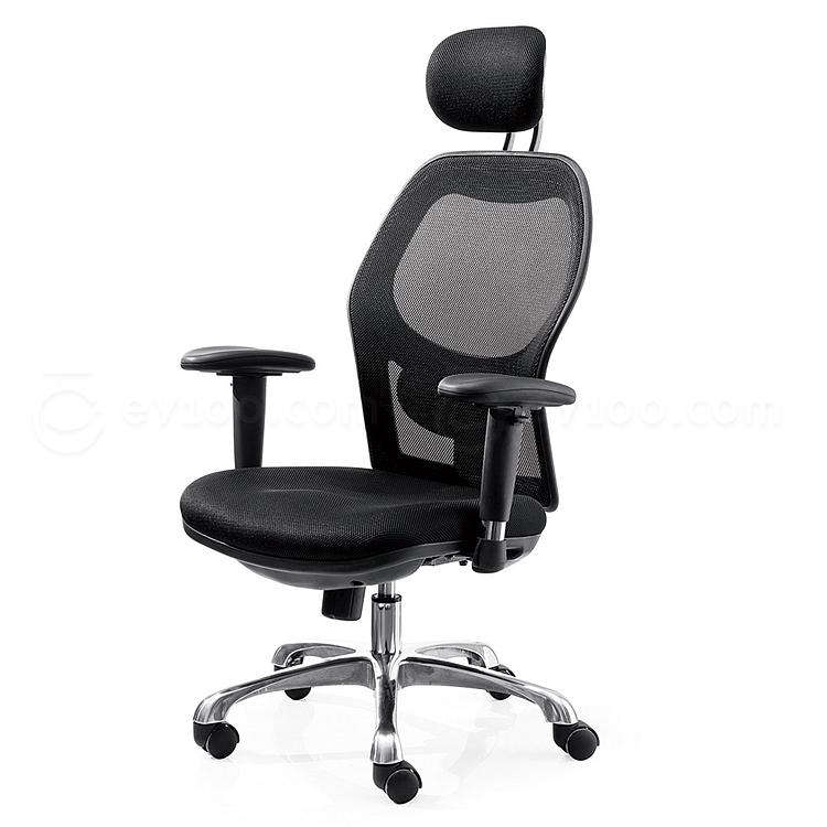 吴俚 网布人体工学办公椅 (黑)  YT-8178A