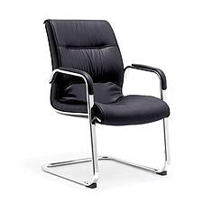 集大 牛皮办公椅 (黑) W570*D710*H940mm  CH-113C