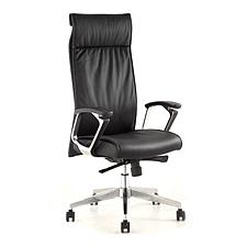 集大 仿皮办公椅 (黑) W620*D570*H1190-1260mm  CH-140A-1