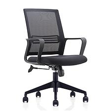 集大 辦公椅 (黑) W580*D580*H925-1000mm  CH-191B