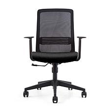 集大 办公椅 (黑) W640*D630*H950-1050mm  CH-178B