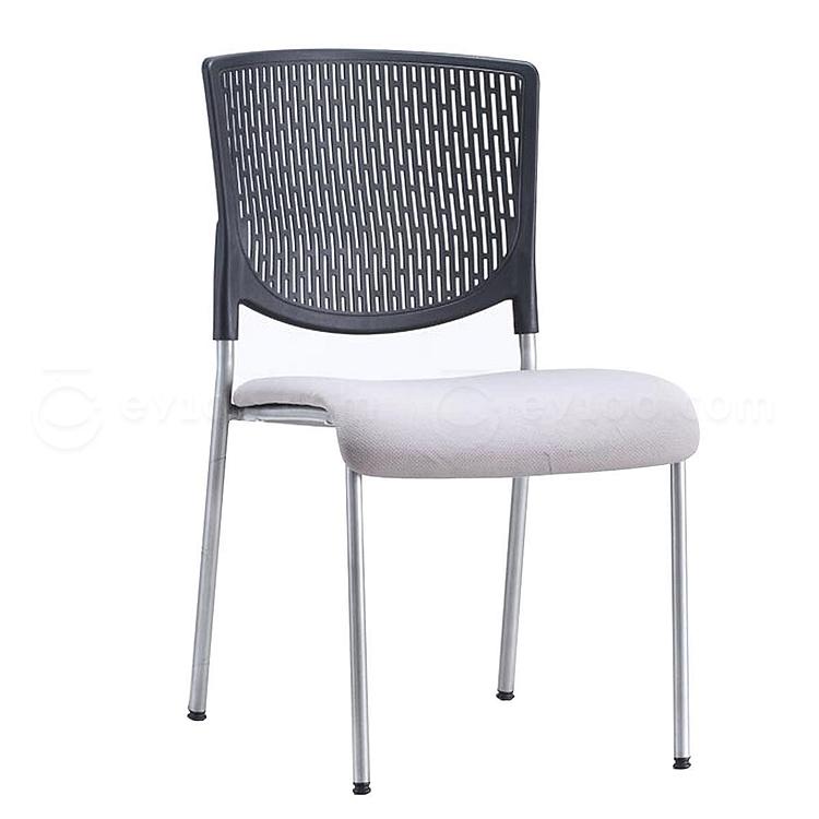 集大 培训椅 (黑背灰座) W460*D570*H830mm  CH-038C1