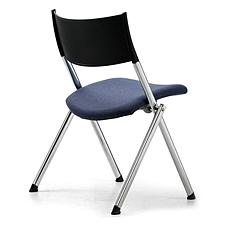集大 培训椅 (黑) W600*D570*H780mm  CH-039C1