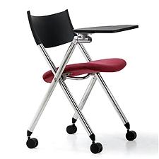 集大 培训椅 (黑背红座) W600*D590*H780mm  CH-039CX-2