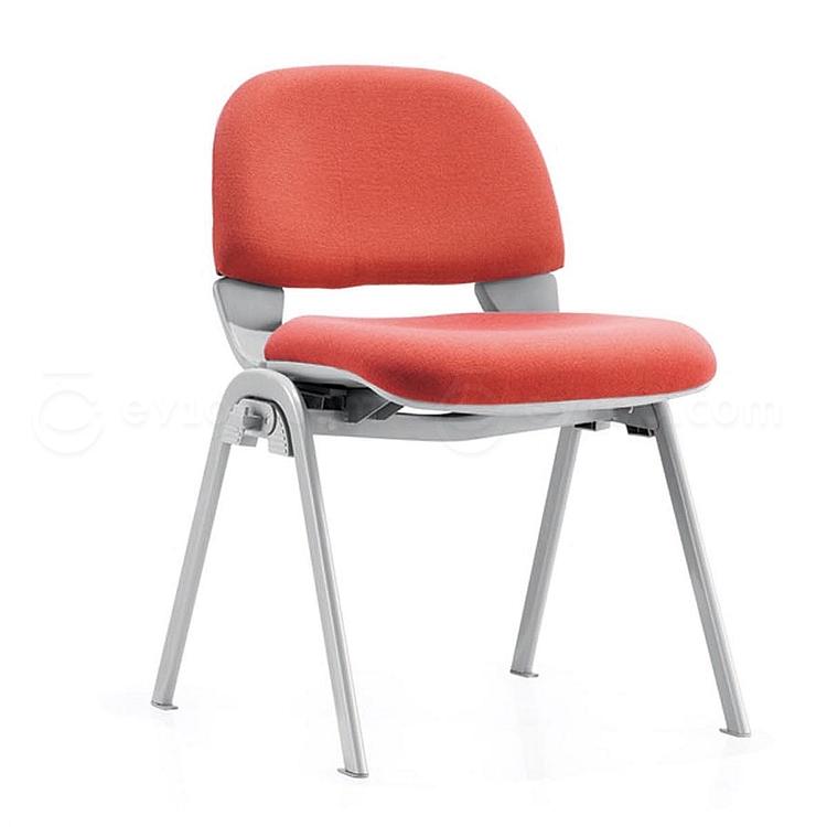 集大 培训椅 (红) W460*D460*H730mm  CH-048C