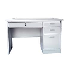 集大 办公桌 (浅灰色) 1200*700*740mm  GX-1271