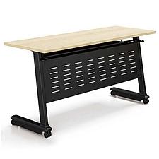 集大 折叠培训桌 (枫木色) W800*D500*H750  FS002-08
