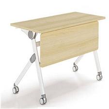 集大 折叠培训桌 (枫木色) W1400*D500*H750  FS004-14
