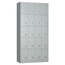 发力 二十门更衣柜 (灰白) 900*400*1850  FL-151