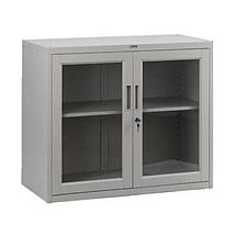 集大 单节玻璃开门柜 (浅灰) W900*D400*H750mm  CAB-BK-7