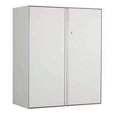 国誉 Softorage三层下置开门柜 900*450*1076mm 白色柜门,银色柜身  KSR-SD39WN
