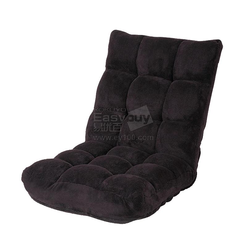 山业 SANWA超细纤维懒人沙发 (黑)  100-SNC041BK