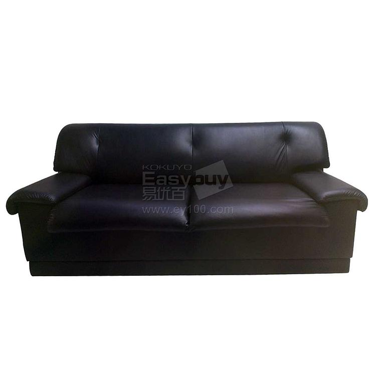 吴俚 办公沙发 (黑)  WL-8768F3