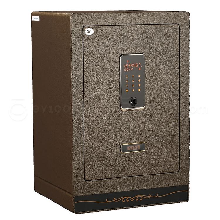 全能 触控电子密码保险箱防盗保险柜 (棕色) 98.1KG  HG-6842II