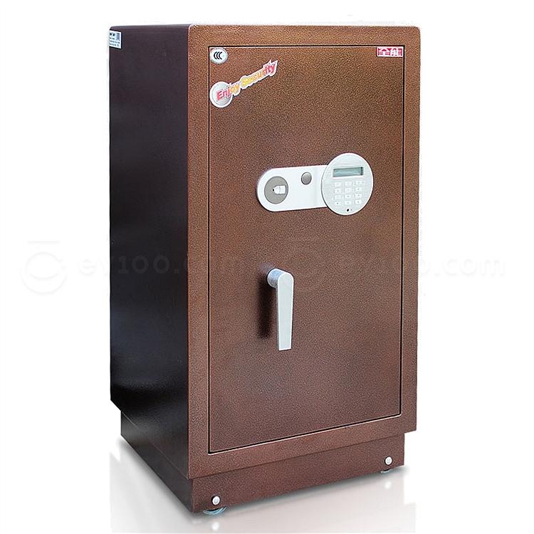 全能 电子密码保险箱防盗保险柜 (棕色) 95KG  HG-8045
