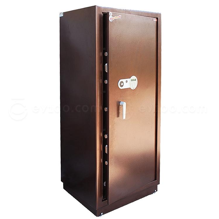 全能 电子密码保险箱防盗保险柜 (棕色) 280KG  HG-15870